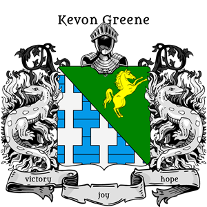 Coat of Arms of Kevon Greene