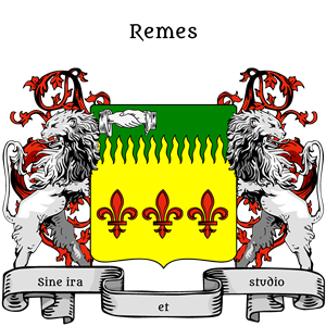 Coat of Arms of Remes MArius