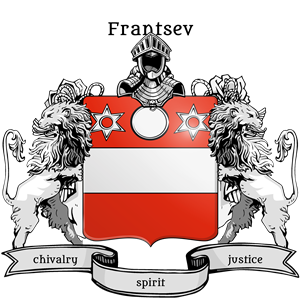 Coat of Arms of Andrey Frantsev